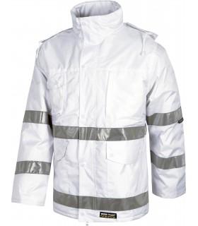 Parka acolchada, impermeable de industria Workteam S1008