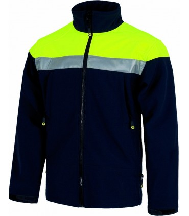 Chaqueta Workshell Alta Visibilidad Workteam S9505