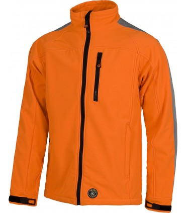 Chaqueta Workshell Alta Visibilidad Workteam S9530
