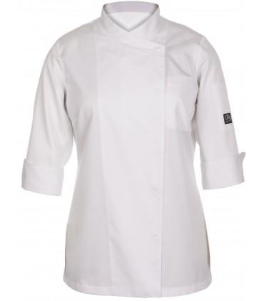 Chaqueta de cocina de mujer Galatea Gastro Chef de Gary's 9334