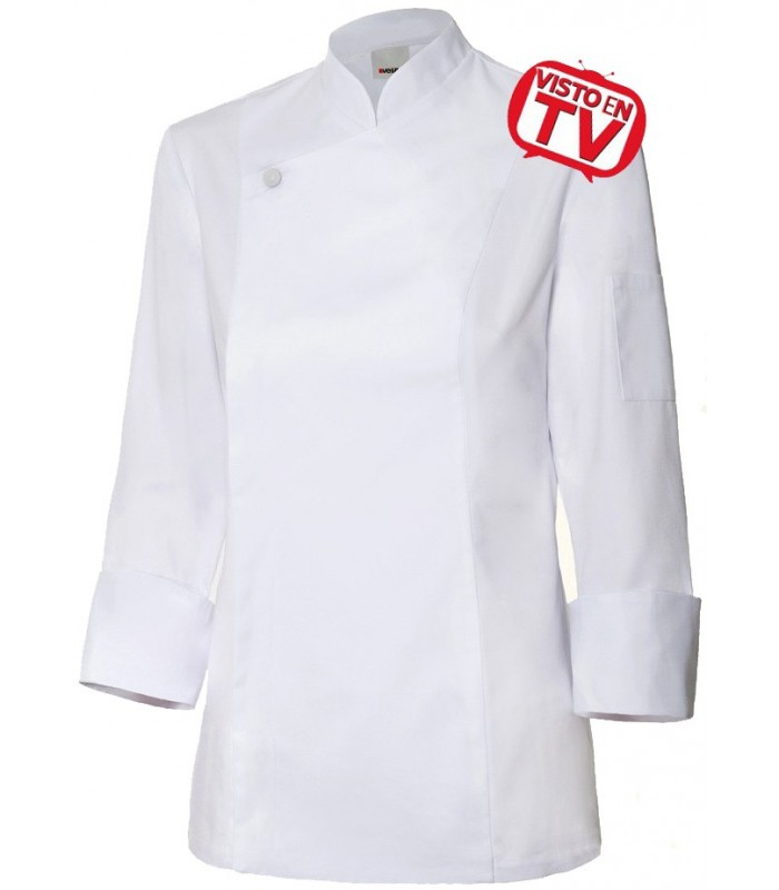 "Chaqueta de cocinera ""TOP CHEF"" TV Velilla 405203"