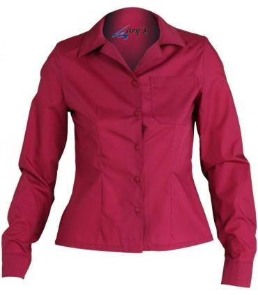 Blusa de mujer para hostelería, estética, sanidad Gary's 246 ML.