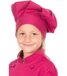 Gorro Chef para cocina infantil 4453 frambuesa
