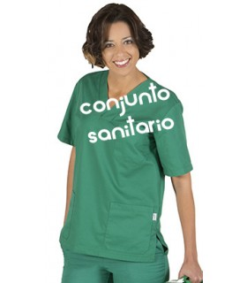 Conjunto sanitario unisex color 843