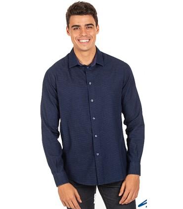 Camisa de hombre Slim Fit Franco 2987